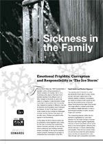 Sickness in the Family: Emotional Frigidity, Corruption and Responsibility in <i>The Ice Storm</i>