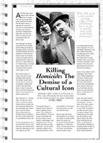 Killing <i>Homicide</i>: The Demise of a Cultural Icon