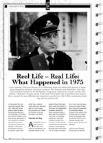 1975: The Unease of Passing Milestones; Australian Films Released in 1975; Reel Life ?Real Life: What Happened in 1975