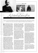 (Re)discovering Stanislavsky for Actors and Screenwriters