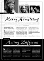 In the Words of the Artist: Kerry Armstrong