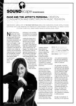 Rage and the Artist's Persona: Creation, Consumption and Expectation in Music Television; Soundscape Reviews