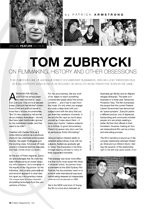Tom Zubrycki on Filmmaking, History and Other Obsessions