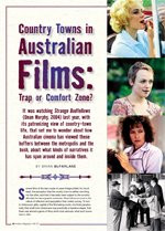 Country Towns in Australian Films: Trap or Comfort Zone?