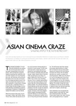 Asian Cinema Craze: Sailing Into the Mainstream?