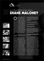 A Conversation With Shane Maloney