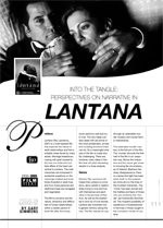 Into the Tangle: Perspectives on Narrative in Lantana