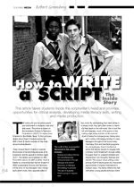 How to Write a Script: The Inside Story