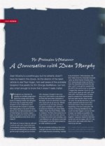 No Pretension Whatsoever: A Conversation With Dean Murphy