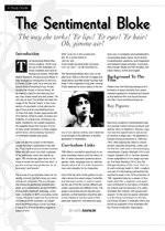 The Sentimental Bloke: A Study Guide