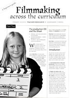Filmmaking Across the Curriculum: A Beginner's Guide (Part 2)