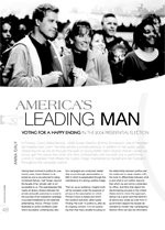 America's Leading Man: Voting for a Happy Ending in the 2004 Presidential Election