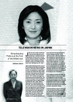 Television News in Japan; Broadcasting Politics at the Turn of the Millennium