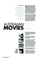 Australian Movies: Small Stories That Stay Small