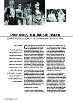 Pop Goes the Music Track: Scoring the Popular Song in the Contemporary Film Soundtrack