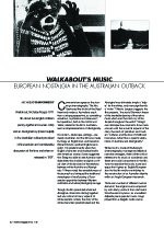 'Walkabout's' Music: European Nostalgia in the Australian Outback (Metro Special Feature: Sound)