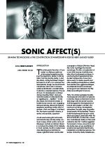 Sonic Affect(s): Binaural Technologies and the Construction of Auratorship in Rolf de Heer