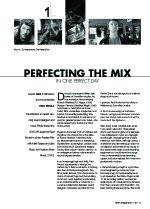 Perfecting the Mix in ?ne Perfect Day?(Metro Special Feature: Sound)