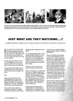 Just What Are They Watching?: The Australian Children