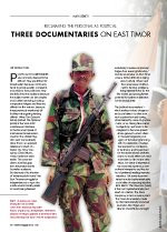 Reclaiming the Personal as Political: Three Documentaries on East Timor