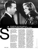 Bogarting the Joint: Ways of Reading Howard Hawks??he Big Sleep?(Film As Text)