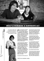 'Molly and Mobarak': A Subversive Act