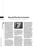 Beyond the Hero? Journey