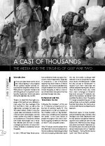 A Cast of Thousands: The Media and the Staging of Gulf War Two