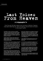 Last Voices From Heaven