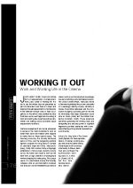 Working it Out - Work and Working Life in the Cinema