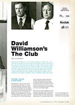 NFSA's Kodak/Atlab Cinema Collection: <em>David Williamson's The Club</em>