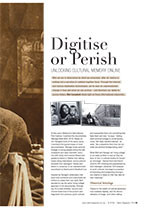 Digitise or Perish: Unlocking Cultural Memory Online