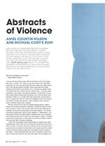 Abstracts of Violence: Amiel Courtin-Wilson and Michael Cody's <em>Ruin</em>