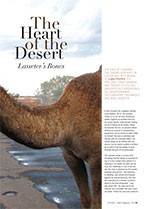 The Heart of the Desert: <em>Lasseter's Bones</em>