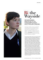 Bi the Wayside: Re-imagining Bisexuality in Contemporary Australian Cinema