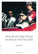 <em>Ferris Bueller's Day Off</em> and the History of the Teen Film