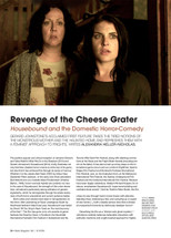 Revenge of the Cheese Grater: Housebound and the Domestic Horror-Comedy
