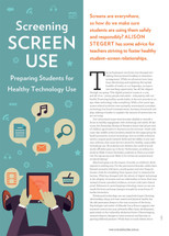 Screening Screen Use: Preparing Students for Healthy Technology Use