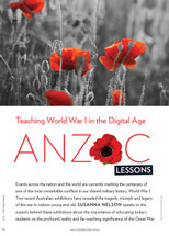 Anzac Lessons: Teaching World War I in the Digital Age