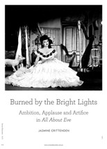 Burned by the Bright Lights: Ambition, Applause and Artifice in All About Eve