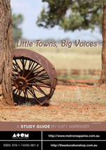 Little Towns, Big Voices (ATOM study guide)