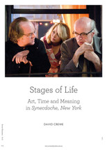 Stages of Life: Art, Time and Meaning in Synecdoche, New York