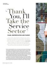 Thank You, I'll Take the Service Sector': Class, Gentrification and Pawno