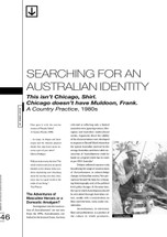 Searching for an Australian Identity