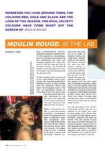 Moulin Rouge': At the Lab