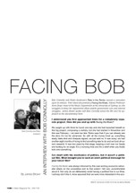 Facing Bob: An Interview with Bob Connolly