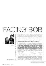 Facing Bob: An Interview with Bob Connolly