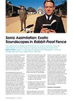 Sonic Assimilation: Exotic Soundscapes in <em>Rabbit-Proof Fence</em>