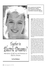 Together in Electric Dreams? Narratives of Self, Sex and Romance in 'Electric Dreams'