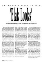 AFI Conversations on Film: 'Blak Looks': Richard Franklin ('Harry's War', 1999) and Ivan Sen ('Wind', 1999)